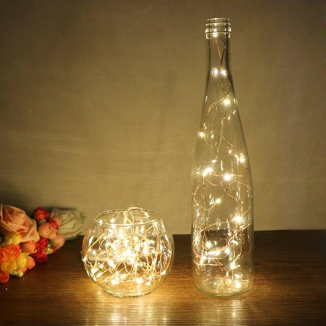 5m 50 lampki led na drucie miedzianym lampka nocna oświetlenie świąteczne na girlandę bajka świąteczna dekoracja weselna