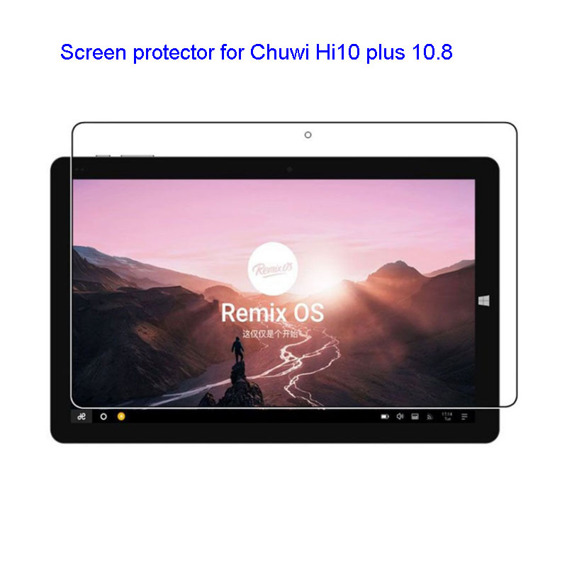 Protective Film HD Screen protector for Chuwi Hi10 plus 10.8 Tablet PC Windows 10 Android 5.1 Dual OS Intel tablet
