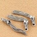 S925 Silver Jewelry Accessories Tassel DYI Muslim/Arab Prayer Beads Pendant Delicate Charm Pendant Free Shipping