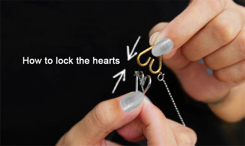 How to lock the hearts