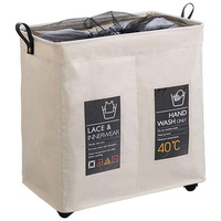 Roller Corner Durable Laundry Basket Dirty Clothes Storage Basket Storage Bag Laundry Bag