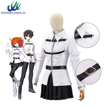 PADEGAO Game FGO Fate Grand Order First Grand Master Coat Suit Clothing wig For Adult