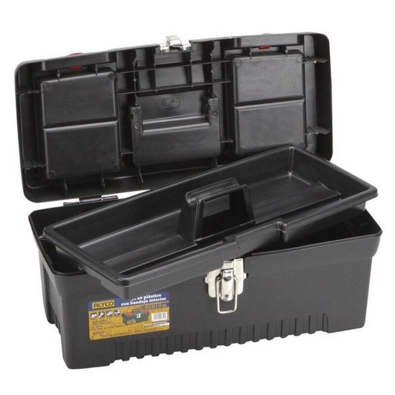 ALYCO 192824-'s Cash Box Plastic Tools And Tray 606x310mm