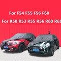 Черный водонепроницаемый чехол для автомобиля Защита от пыли и дождя для Mini Cooper F54 F55 F56 F60 R50 R53 R55 R56 R60 R61