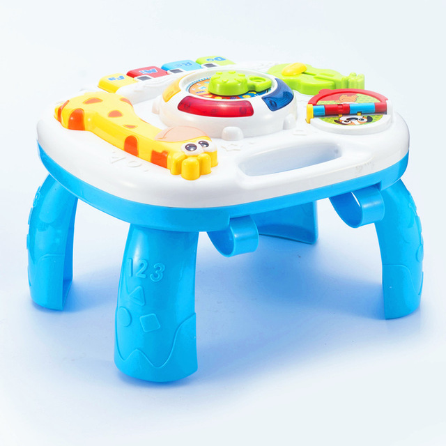Baby Toys 12-24 Months Educational Musical Happy Toys For Children Baby Toddlers Bebek Oyuncak Brinquedos Para Bebe Baby Piano цена
