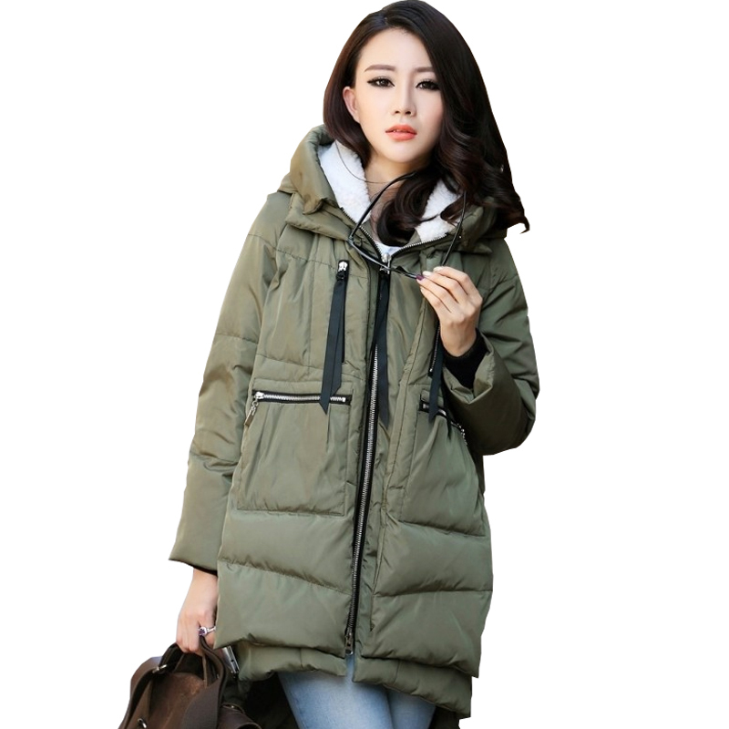 2018 New Hot Sale Maternity Winter Coat Winter Outerwear Maternity Coat Pregnant Women Fashion Large Yard Thick Down Jacket In Coats From Mother Kids On