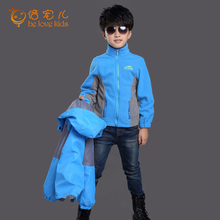 boys winter jacket 2016 casual sport outdoor jacket for boys teenage boys clothing kids boys jacket coat 2 pieces set PT564