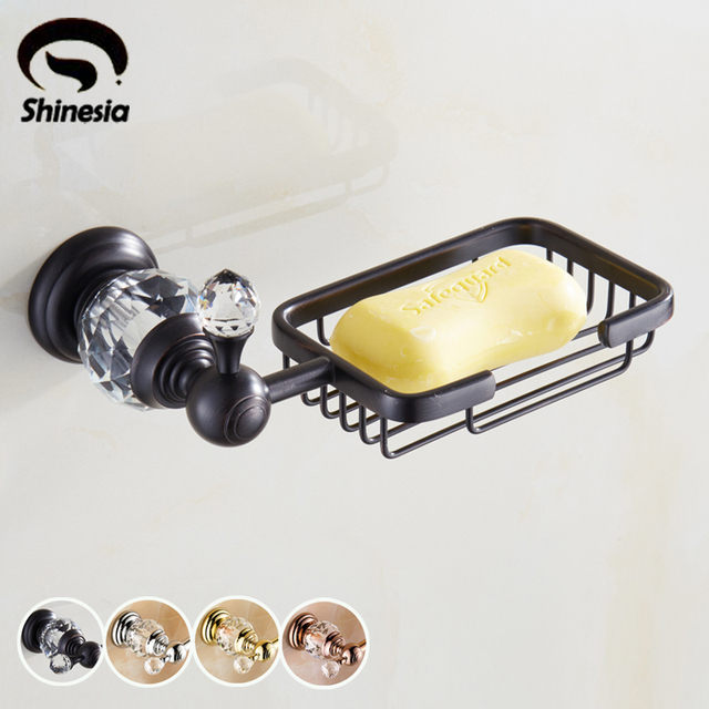 Luxury Bathroom Soap Dish Holder Wall Mounted Solid Brass Oil Rubbed Bronze