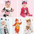 2015 Princesa ropa de niños sets bebé niñas pijama de dibujos animados niño bebé niños pijamas traje Casual ropa de niños