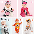 2017 Princesa ropa de niños sets bebé niñas pijama de dibujos animados niño bebé niños pijamas traje Casual ropa de niños