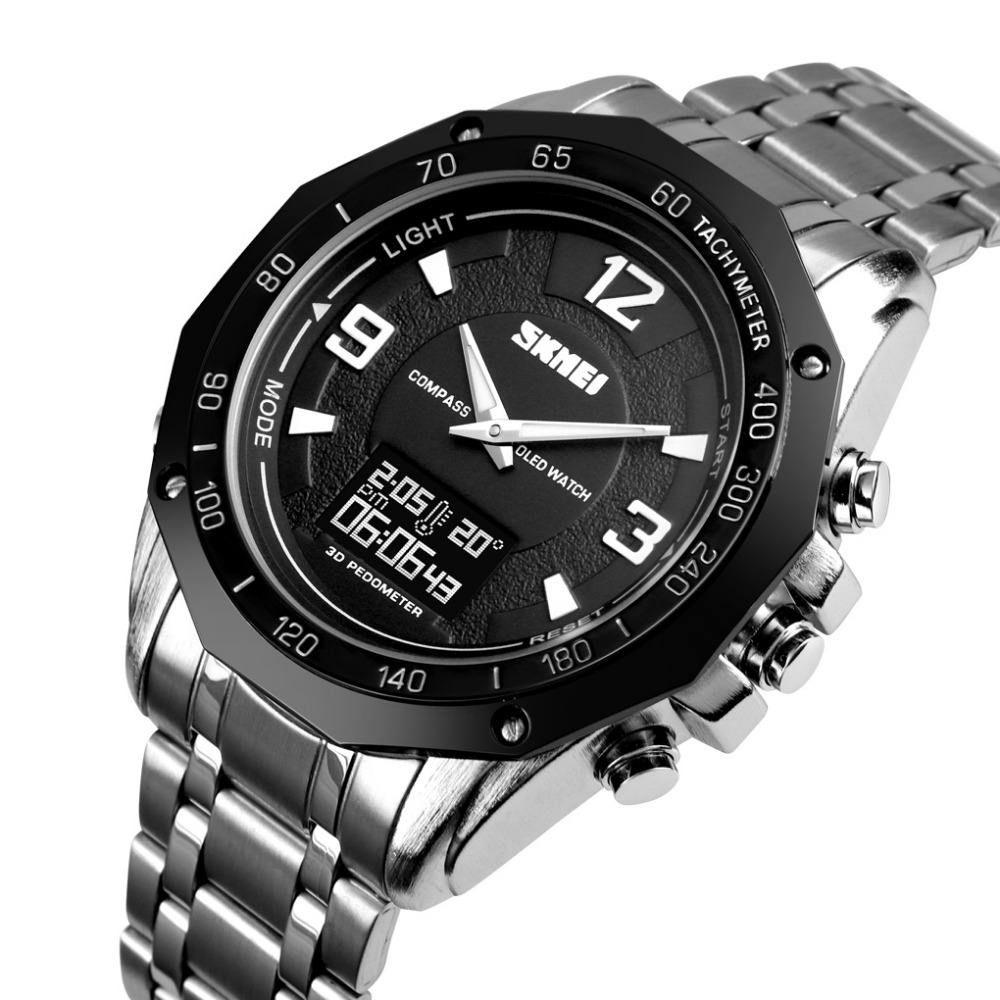 SKMEI Watch Mens Watches Top Brand Luxury Sport Quartz Wrist Men Analog Digital Waterproof Military Waterproof RelogioSKMEI Watch Mens Watches Top Brand Luxury Sport Quartz Wrist Men Analog Digital Waterproof Military Waterproof Relogio