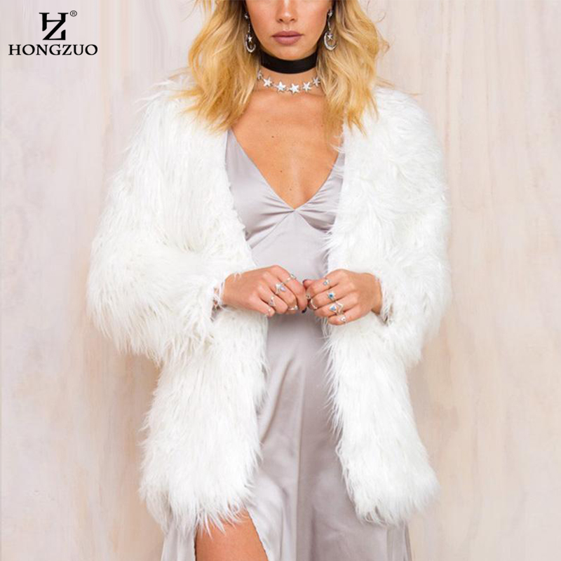 Online Get Cheap Fluffy White Jacket -Aliexpress.com | Alibaba Group