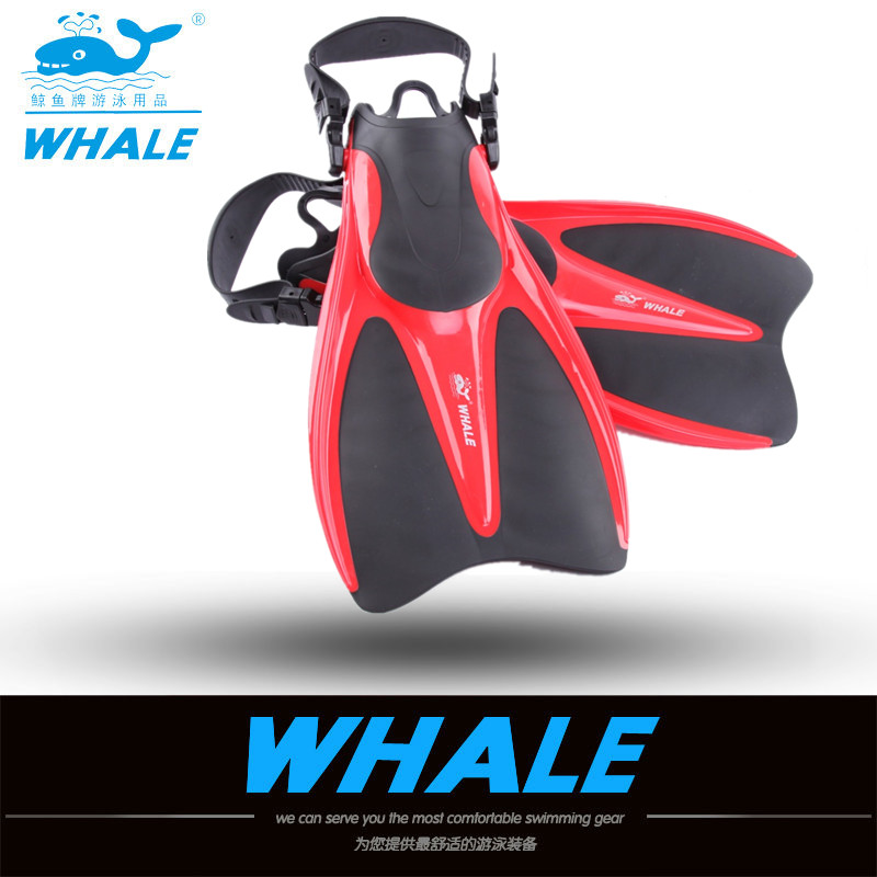 Professional Swimming Diving Fins Diving Snorkel Adjustable Size Foot Flipper Water Sports Swimming Diving Equipment