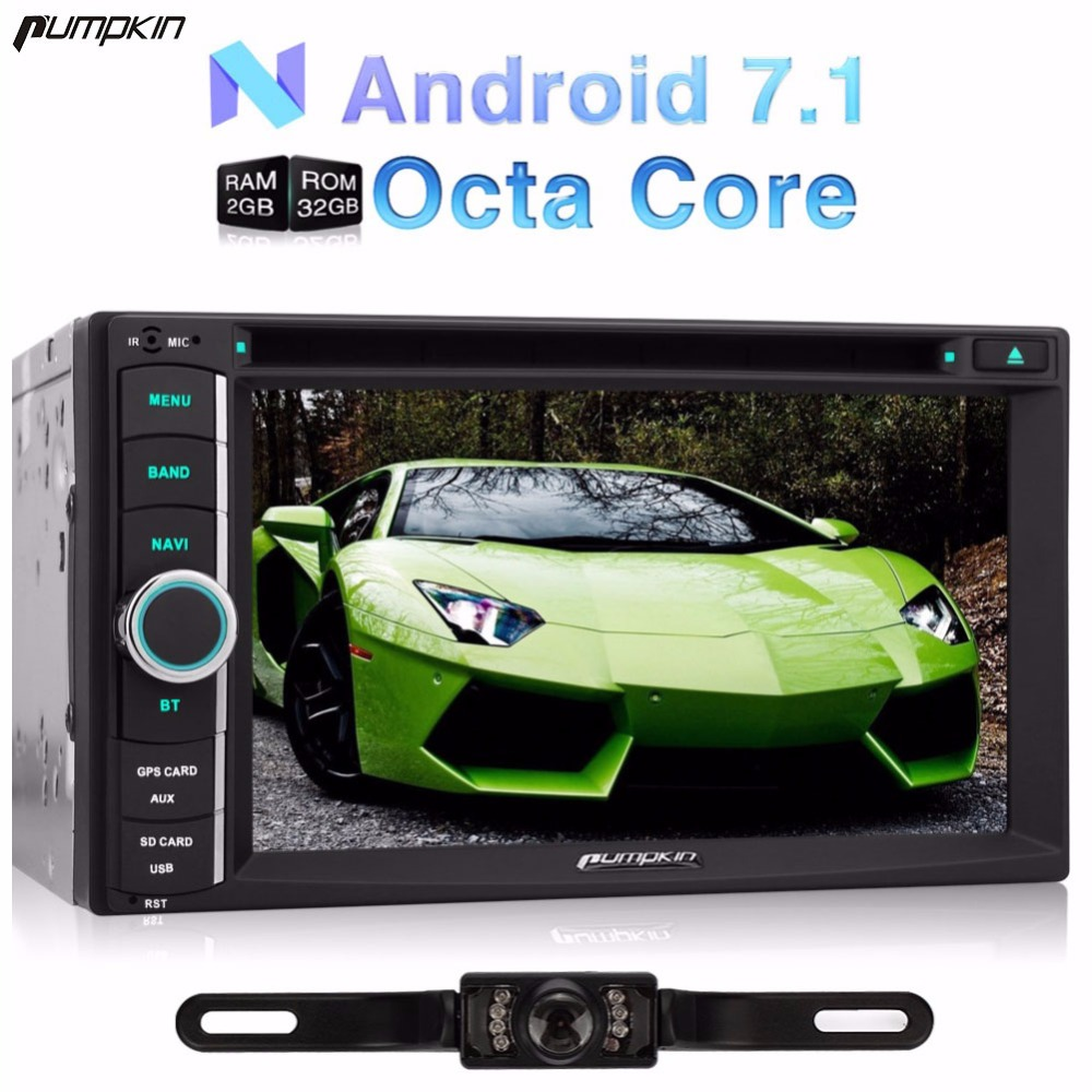Android 6 0 Two Din 7 Inch Car DVD Player Car Radio For Benz Volkswagen Audio