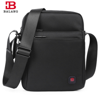 BALANG Casual Men Crossbody Bags Business Single Shoulder Bags Messenger Bags Vintage Fashion High Quality Waterproof