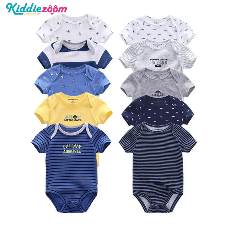 Newborn Baby Rompers Boy Clothes Playsuit Clothes 100% Soft Cotton Cute Jumpsuit  Infant Girl Body Romper Clothing for 0-12M Boy