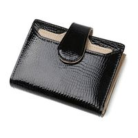 Fashion Qian Xi Lu Fashion Leather Women Wallets Short Coin Purse Small Wallet Coin Pocket Card