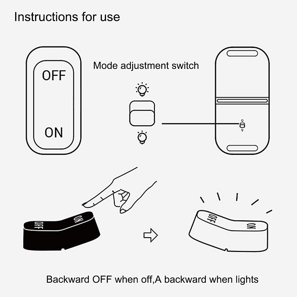 OnOff Switch Style Desk Lamp Gravity Sensor Keyboard Home Decorate Light Usb Table Night Lamp (3)