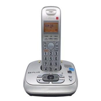 Lingua inglese Risposta Sistema DECT 6.0 Più 1.9 GHz Telefono Cordless Digitale ID di Chiamata Senza Fili Telefono di Casa Per Office