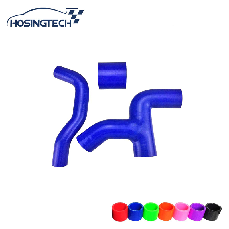 HOSINGTECH-for Impreza WRX / STi GDB silicone radiator hose Kit turbo boost intercooler induction pipe hose
