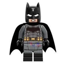 50pcs super heroes marvel dc comics model Justice League Unlimited Batman building blocks bricks friends hobby toys for boys