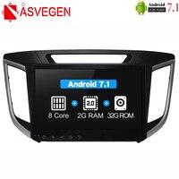 Asvegen 2G 32GB Octa Core Car DVD Radio For HYUNDAI IX25 2014 Car PC Head Unit