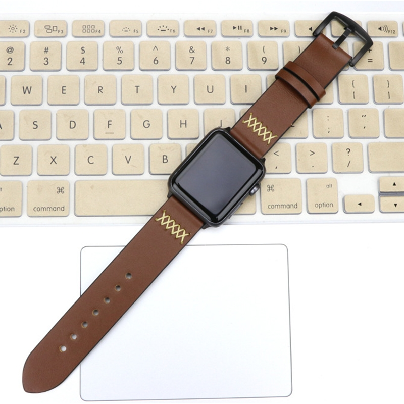 CRESTED Crazy Horse strap For Apple watch band 42mm 38mm Iwatch series 3 2 1 Leather Straps wrist bands watchband bracelet belt crested crazy horse strap for apple watch band 42mm 38mm iwatch series 3 2 1 leather straps wrist bands watchband bracelet belt