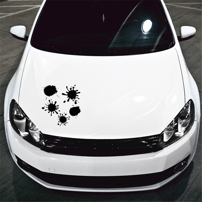 CS 1420 30 31 8cm Set of blots funny car sticker vinyl decal silver black for auto car stickers styling in Car Stickers from Automobiles Motorcycles