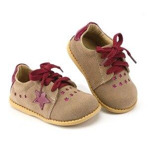 Image 5 - TipsieToes Thương Hiệu Chất Lượng Cao Da Thật Khâu Trẻ Em Giày Trẻ Em Ngôi Sao Cho Bé Trai Và Bé Gái 2020 Apring Hàng Mới Về