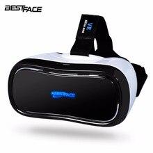 BESTFACE Alle in einem VR Virtual Reality Brille 3D Headset Quad-core 5,5 Zoll 1080 P Immersive für PC/TV bluetooth akzeptieren