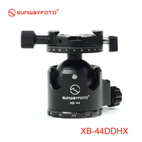 SUNWAYFOTO XB 44DDHX Low Profile Professional Tripod Ball Head with Panoramic Clamp for DSLR Camera