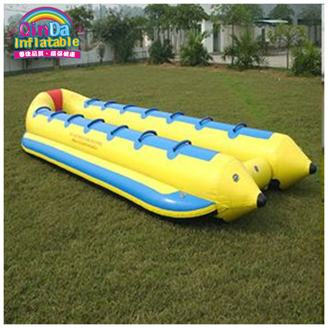14 seats inflatable banana boat fly fish for water game