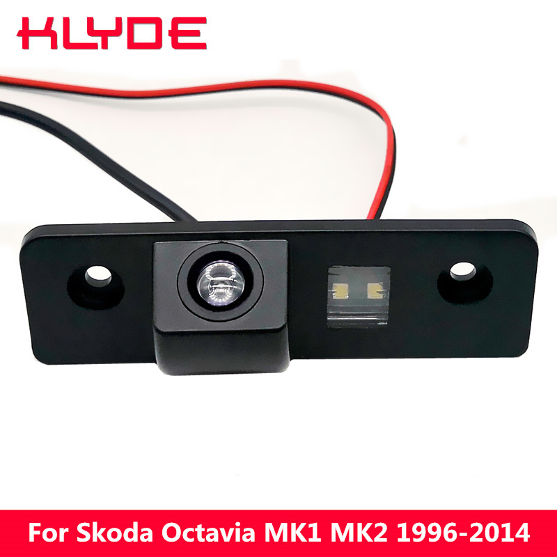 KLYDE HD Car Rear View Reverse Camera For Skoda Octavia MK1 MK2 1996-2003 2004 2005 2006 2007 2008 2009 2010 2011 2012 2013 2014KLYDE HD Car Rear View Reverse Camera For Skoda Octavia MK1 MK2 1996-2003 2004 2005 2006 2007 2008 2009 2010 2011 2012 2013 2014