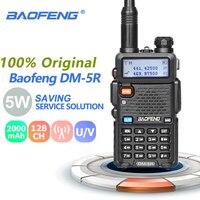 Baofeng DM 5R Walkie Talkie Tier1 Tier2 DMR Radio Digital Analog Dual Mode Dual Time Slot Dual Band Transceiver CB Radio Scanner