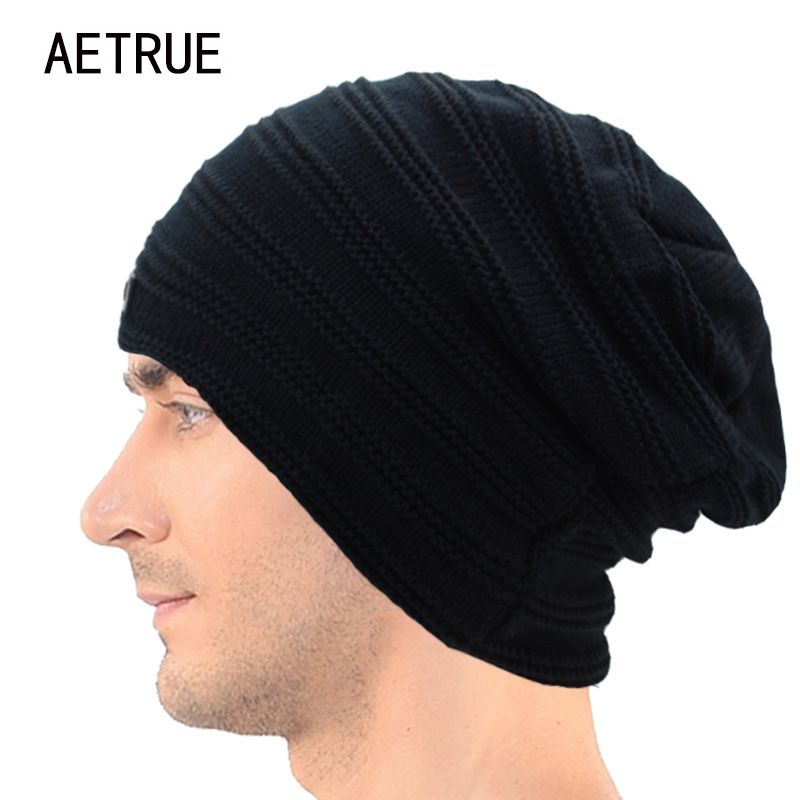 Men Beanies Winter Hats For Men Knitted Hat Warm Bonnet Caps Baggy Brand Solid Thicken Fur Women Winter Hat Wool Skullies Beanie brand skullies winter hats for men bonnet beanies knitted winter hat caps beanie warm baggy cap gorros touca hat 2016 kc010