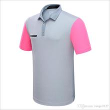 Golf Sport T Shirts Men Summer Clothes Short Sleeve Solid Shirts Sportwear Ball Clothes Quick Dry Breathable Golf T Shirt