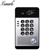 I30 NHÂM NHI Video Chuông Cửa Liên Lạc Nội Bộ Hệ Thống VOIP Camera Cửa Interfone Với Đầu Đọc Thẻ