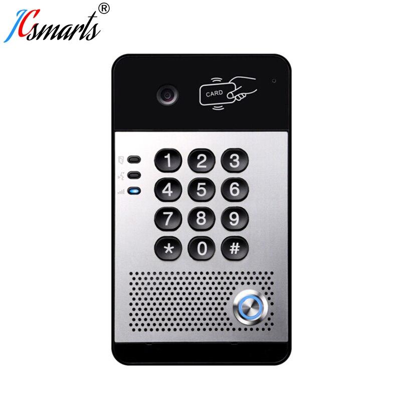 I30 SIP wideo intercom System VOIP kamera drzwiowa Interfone z czytnikiem kart
