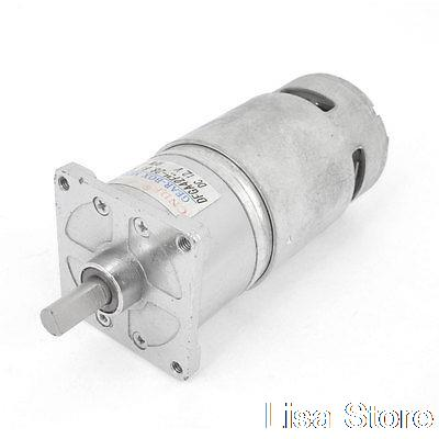 12VDC 24VDC 100 RPM 5-1000RPM Output Speed Cylinder Shaped Oven Geared Motor DFGA42F  цены