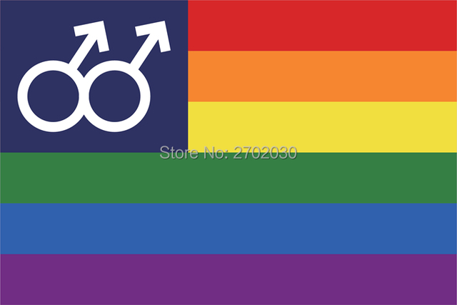 US $6 27 5% OFF|Rainbow Gay Lesbian Stripe Parade Homosexual Flag 150X90CM  Banner 100D Polyester With Grommets Custom Flag-in Flags, Banners &