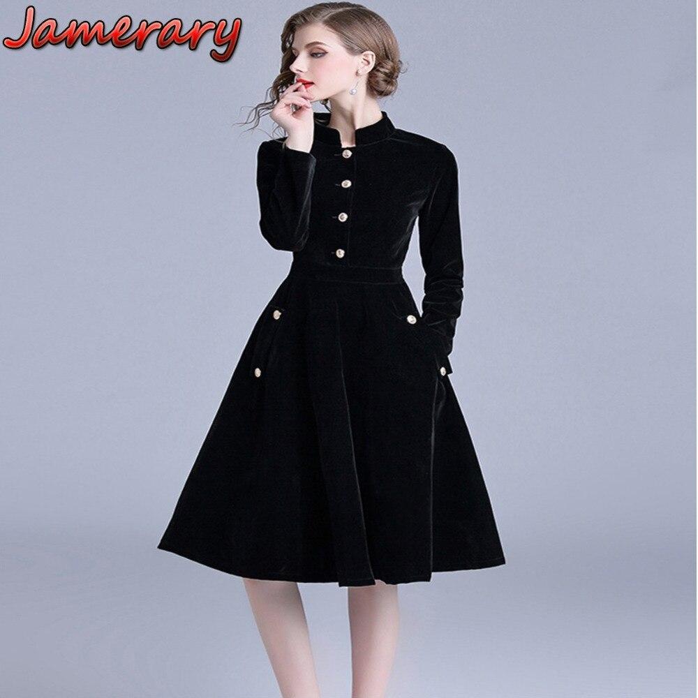 Women's Clothing Brave Ol Style Dark Blue Work Office Dress Vestidos Verano 2018 Autumn Vestido Vintage Long Sleeve Office Ruffle Dress