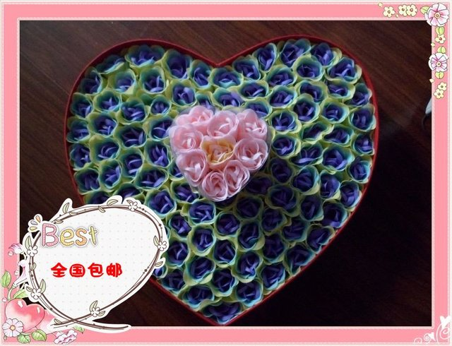 Bath Soap roses exquisite gift birthday gift Aquarius creative gifts manufacturers wholesale