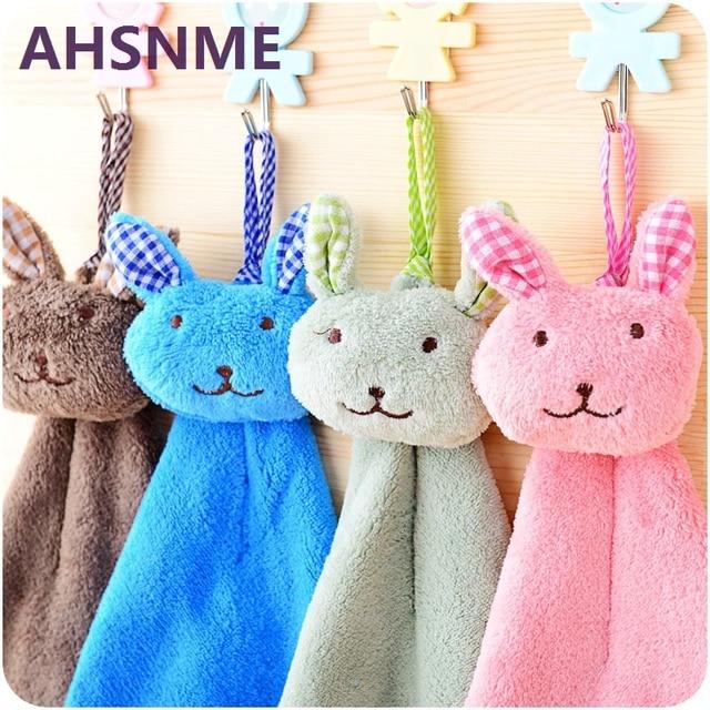 AHSNME immagine del coniglio del fumetto fazzoletto varietà di colori Corallo ca
