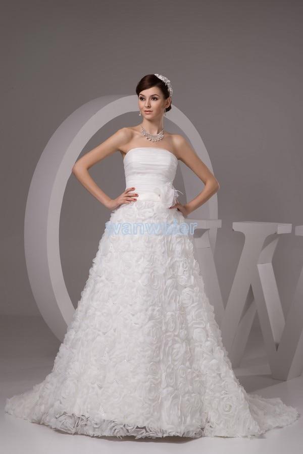 2016 wedding dresses free shipping new design custommade size bridal gown discount wedding elegant handmade flowers up dress
