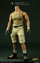 CMTOYS 1/6 Male Clothing Short Sand Clothing Suit Model Toys For 12″ Action Figure Body Accessory