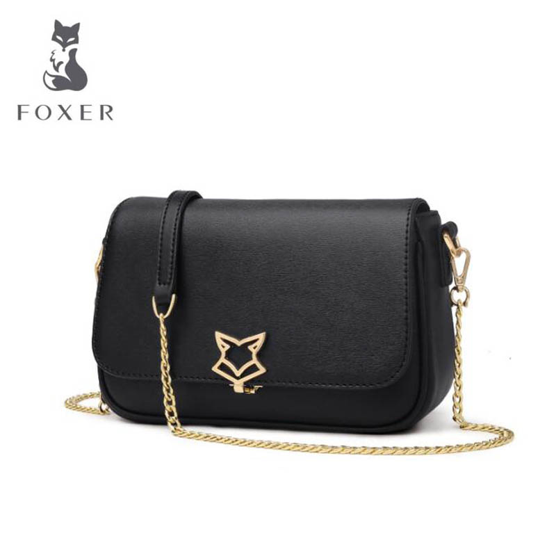 2018 summer leather shoulder bag Fashion Messenger Bag Retro party bag Simple chain bag hmily new fashion shoulder bag women leather messenger bag designer party bag chain star models summer female crossbody bag