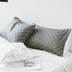 Niestandardowa poszewka na poduszkę 70*70 czystej bawełny luksusowe poszewka na poduszkę 50*70 50*75 poduszka dekoracyjna pokrywa pościel dla Hotel Nordic styl Plaid|Poszewka na poduszkę|Dom i ogród -