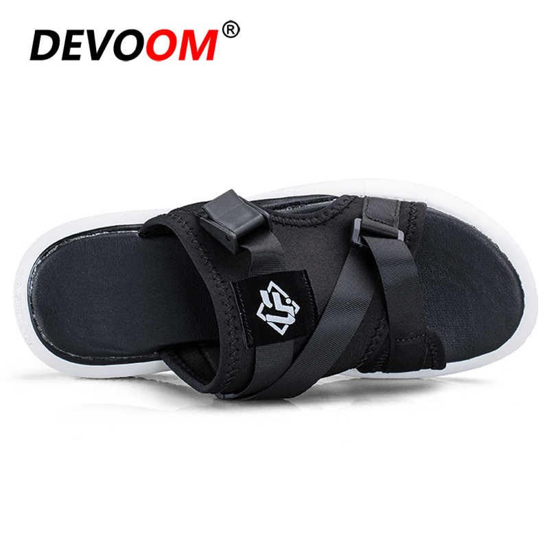 แฟชั่นผู้ชายรองเท้าแตะ Pantoffels ลื่นรองเท้าแตะชายรองเท้าแตะรองเท้าแตะรองเท้าแตะรองเท้าแตะน้ำหนักเบา Flip Flop ผู้ชาย Flip Flops ผู้ชาย Air Mesh รองเท้า