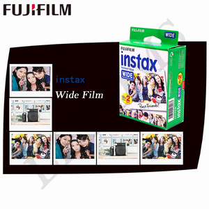 Image 2 - Fujifilm Instax רחב סרט אמיתי לבנים 20 גיליונות נייר צילום מיידי לפוג י המצלמה 300/200/210/100/500AF