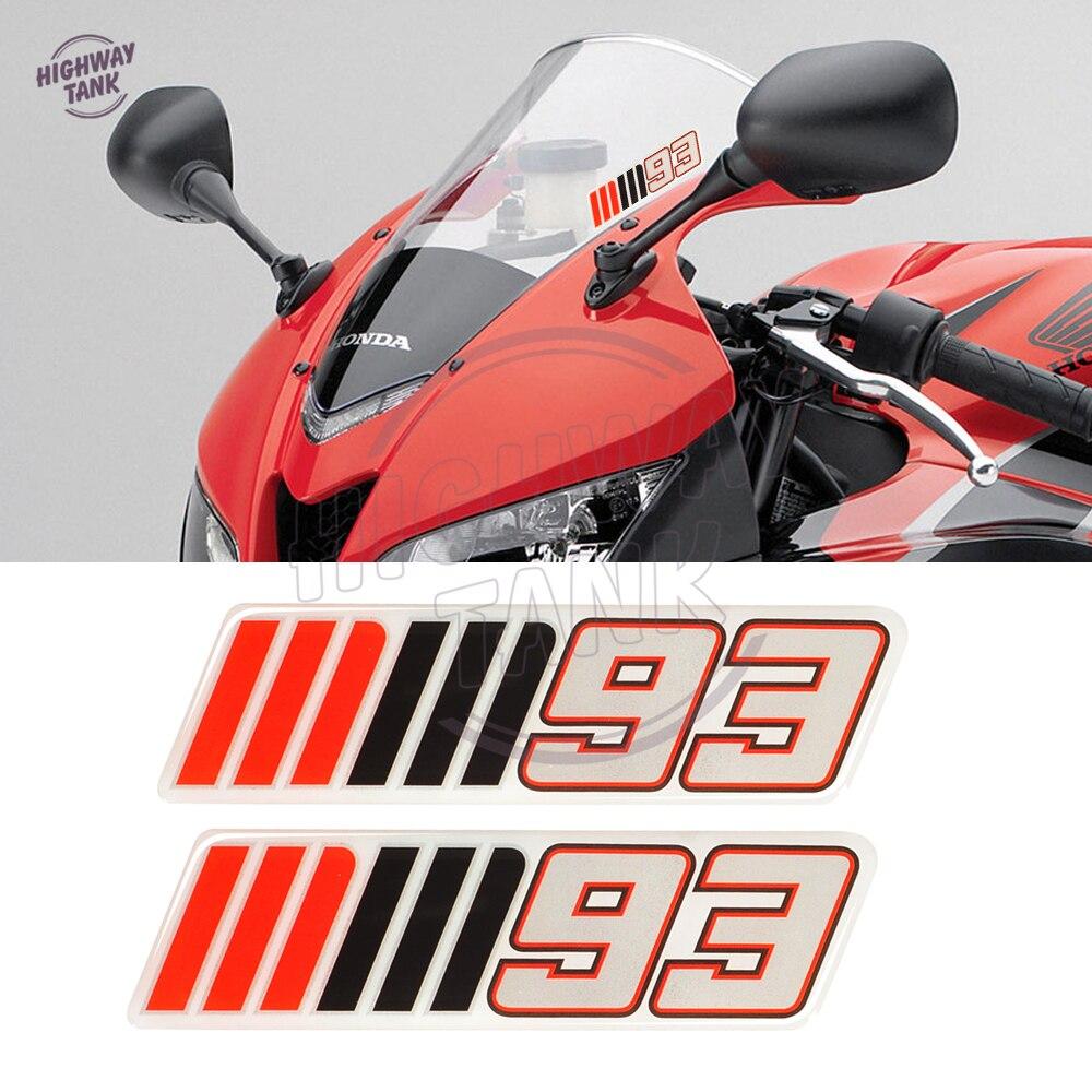 3D мотоциклетные лобовое стекло наклейка Стикеры Мотокросс ветрового стекла mm93 мм 93 Стикеры s Чехол для BMW Yamaha Honda Suzuki Kawasaki KTM